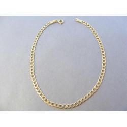 Zlatý pánsky náramok Pancier DN21152Z žlté zlato 14 karátov 585/1000 1,52g