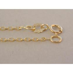Zlatá retiazka vzor ručná pílka DR42156Z žlté zlato 14 karátov 585/1000 1,56 g