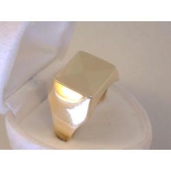 Zlatý pánsky prsteň jemný vzor žlté zlato VP69726Z 14 karátov 585/1000 7,26g