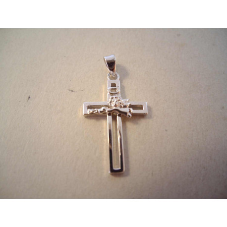 Strieborný prívesok krížik DIS179 925/1000 1,79g