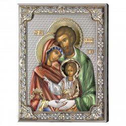 Strieborný obraz svätá rodina 853136LCOL