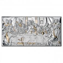 Pozlátený strieborný obraz svätá rodina 81323-6XLORO