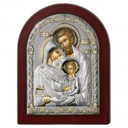 Pozlátený strieborný obraz svätá rodina 84125 4LORO
