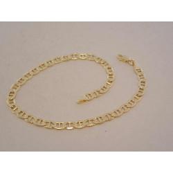 Zlatý náramok UNISEX VN21318Z žlté zlato 14 karátov 585/1000 3,18 g