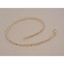 Zlatý dámsky náramok viacfarebné zlato VN18151V 14 karátov 585/1000 1,51 g