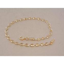 Zlatý dámsky náramok VN19151Z žlté zlato 14 karátov 585/1000 1,51 g