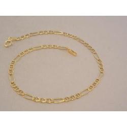 Zlatý pánsky náramok žlté žlato VN20115Z 14 karátov 585/1000 1,15 g