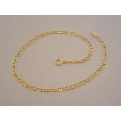 Zlatý náramok UNISEX zaujímavé očká VN20120Z žlté zlato 14 karátov 585/1000 1,20 g