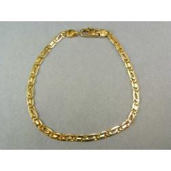 Zlatý náramok žlté zlato dolárový vzor VN20659Z