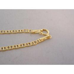 Zlatá retiazka UNISEX žlté zlato VR46194Z 14 karátov 585/1000 1,94 g