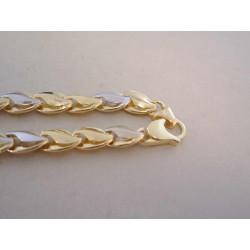 Zlatá dámska výrazná retiazka viacfarebné zlato, jemný vzor VR511490V 14 karátov 585/1000 14,90 g