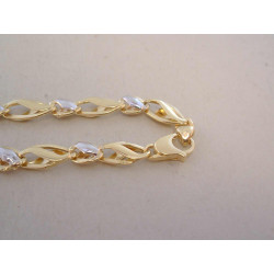 Zlatá dámska výrazná retiazka viacfarebné zlato VR555952V 14 karátov 585/1000 9,52 g