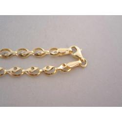 Zaujímavá dámska zlatá retiazka VR50380Z žlté zlato 14 karátov 585/1000 3,80 g