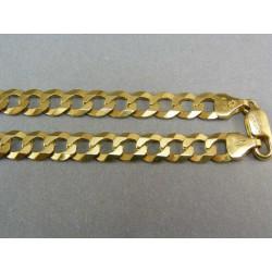 Zlatá retiazka pánska žlté zlato vzor pancier VR502293Z