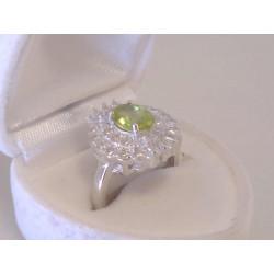 Výrazný strieborný dámsky prsteň zirkóny VPS52405 925/1000 4,05 g
