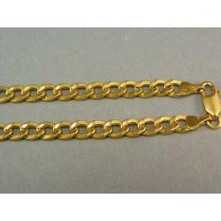 Zlatá retiazka žlté zlato vzor pancier VR551064Z