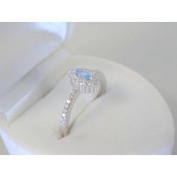 Jemný dámsky strieborný prsteň zirkóny VPS49165 925/1000 1,65 g