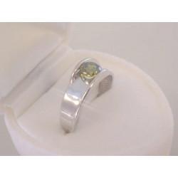 Výrazný dámsky strieborný prsteň farebný zirkón VPS53206 925/1000 2,06 g
