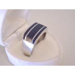 Pánsky strieborný prsteň s kameňom ONYX VPS65665 925/1000 6,65 g