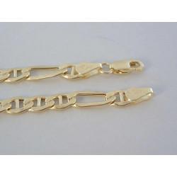 Zlatá pánska retiazka žlté zlato DR55737Z 14 karátov 585/1000 7,37g