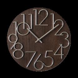 Drevené nástenné hodiny  JVD HT99.3