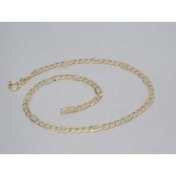 Zlatý pánsky náramok žlté zlato DN20127Z 14 karátov 585/1000 1,27g