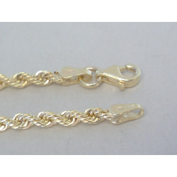 Zlatá retiazka točené žlté zlato DR50821Z 14 karátov 585/1000  8,12g