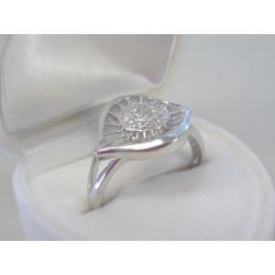 Strieborný dámsky prsteň zirkóny DPS58319 925/1000 3,19g