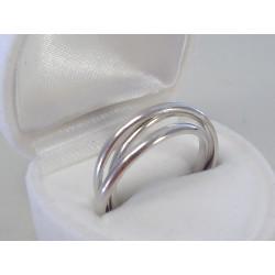 Zaujímavý strieborný dámsky prsteň VDPS56374 925/1000 3,74g