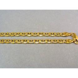Pánska retiazka zo žltého zlata