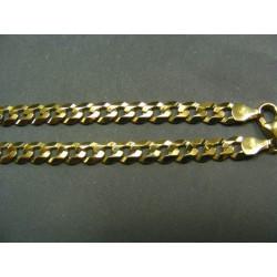 Zlatá retiazka žlté zlato vzor pancier VR501369