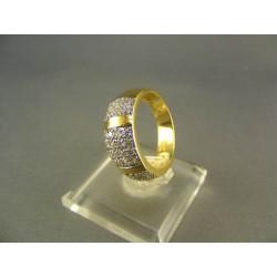 Zlatý dámsky prsteň žlté zlato DP53400/2Z