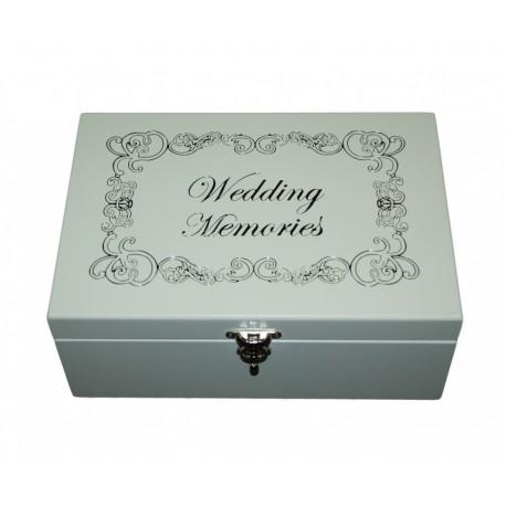 Šperkovnica svadobná WEDDING MEMORIES