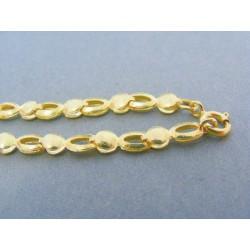 Zlatá retiazka dámska v žltom zlate VR46809Z