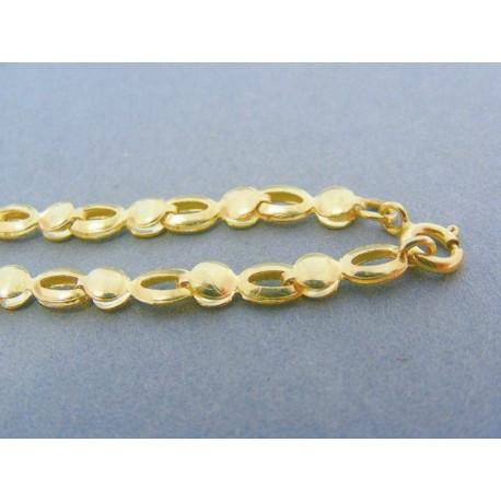 Dámska retiazka v žltom zlate