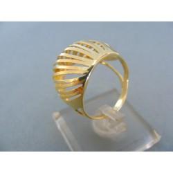 Zlatý dámsky prsteň elegantný v žltom zlate DP55362Z