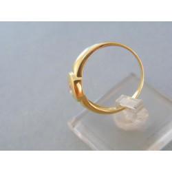Zlatý prsteň žlté zlato zirkón DP58389Z